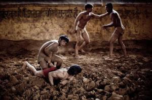 Кушти - борьба в Индии