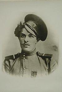 Козьма́ Фи́рсович Крючко́в (1890—18 августа 1919) — донской казак. Был первым награждённым Георгиевским крестом в Первую мировую войну. Донской казак хутора Нижне-Калмыкова (Нижний Калмыкос) Усть-Хопёрской станицы Войска Донского.
