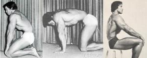 Вакуум в животе на коленях, на четвереньках и сидя (Арнольд Шварценеггер)