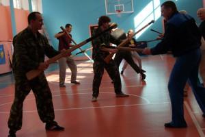Семинар по штыковому бою